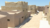 afghan street 3d model