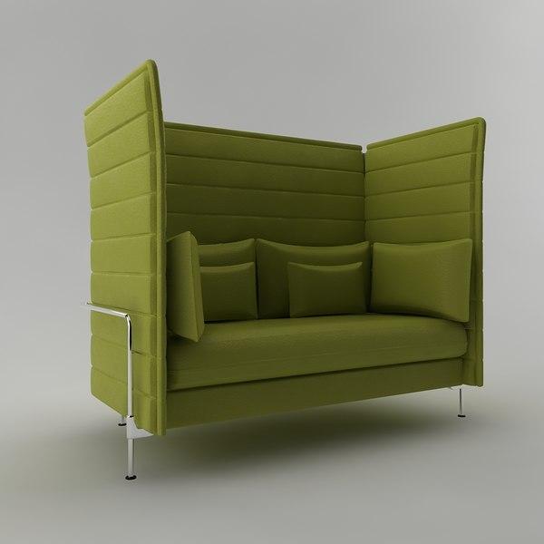 vitra alcove max. Black Bedroom Furniture Sets. Home Design Ideas