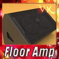 Stage Amp - Floor Amp - High detailed.