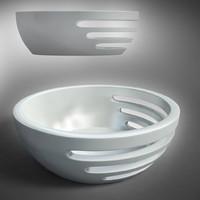 bowl design - 3d model