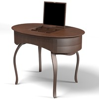 ceccotti lady table 3d max