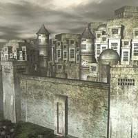 maya medieval castle