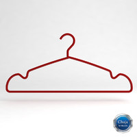 3d clothes hanger clotheshanger
