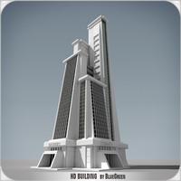 definition building 3d max