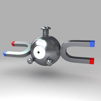 pokemon magnemite 3d model