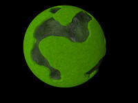 planet ocean landscape 3d model