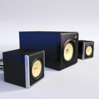 maya computer speakers
