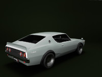 old skyline car 3d model