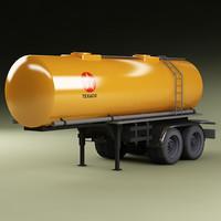 3d model cistern trailer