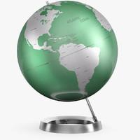 Aluminum austere globe