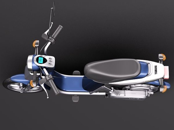 3d yamaha ec-03 electric scooter - Yamaha EC-03 Electric Scooter... by squir
