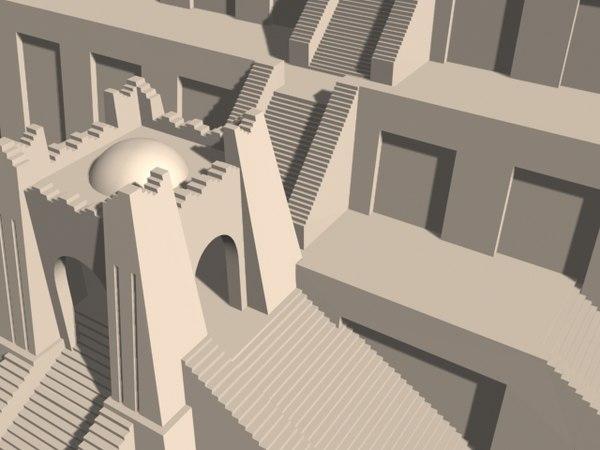 how to build a ziggurat model