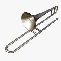 trombone brass 3ds