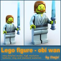 Lego characters - Obi Wan Kenobi
