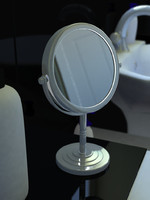 maya small vanity mirror