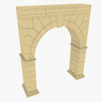 3ds max arc old architecture