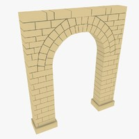 arc old architecture 3d model
