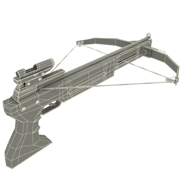 crossbow bow max - Crossbow... by 3d_molier