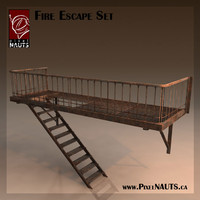 Fire Escape Set