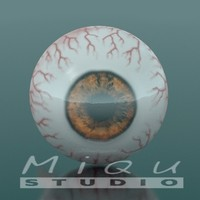3ds max realistic eye