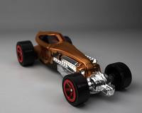 3d model hot toy car