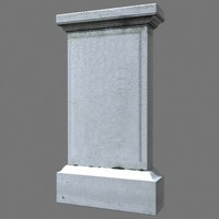 tombstone dug 3d 3ds