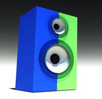 speaker 3d ma