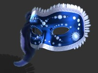 Venetian Carnival Mask 05