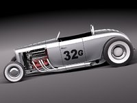 Ford 1932 HotRod Salt Lake Racer