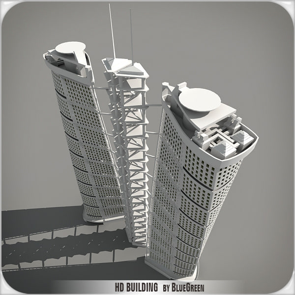 3d model definition building - HD Building HDH... by BlueGreen