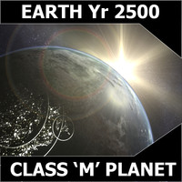 3d model planet earth years
