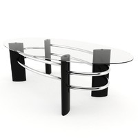 3ds max coffee glass table