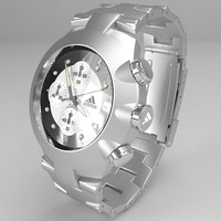 3ds max chronograph watch