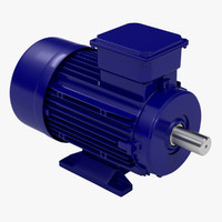 3ds max industrial electric motor body