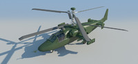3d model kamov helicopter -
