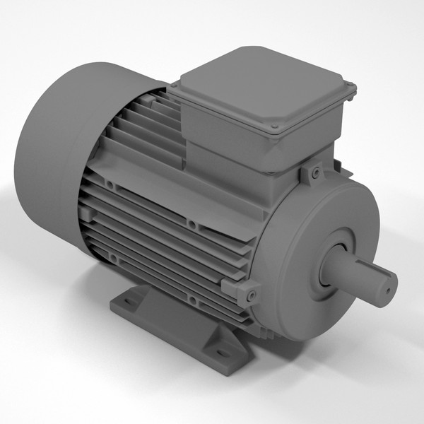 3ds max industrial electric motor body - Electric Motor (body only)... by RomanPritulyak