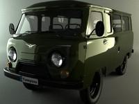 3d uaz model