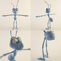 3ds max ant bug insect