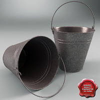 bucket modelled contains 3ds