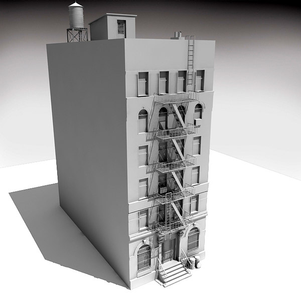 3d max downtown building 6 - Down Town Building 6... by Imagework