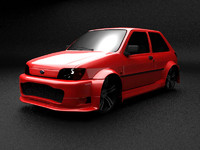 Fiesta MK3 Modified