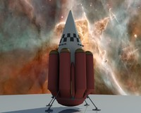 3d 3ds orbital rocket icarus
