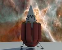 3d 3ds orbital rocket icarus