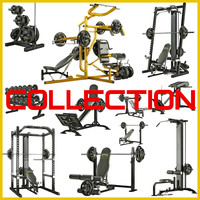 Powertec BIG Collection of equipment for bodybuilding