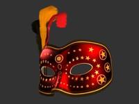 Venetian Carnival Mask 02