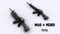 max m16 m203 rifle
