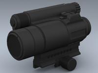 3d m68 m4 rifles