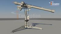 mistral missile 3d model