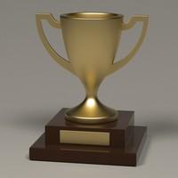 3ds max trophy