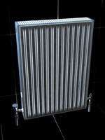 3d small radiator model